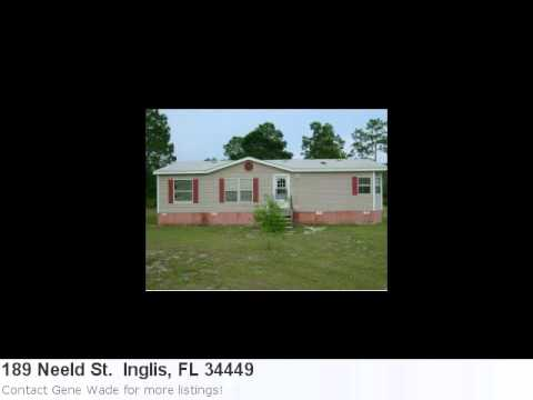 Real Estate In Inglis, Fl- Sensational 3 Bedroom, 2 Bath Hom