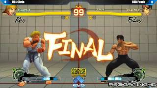 EVO 2K13: SSF4 AE Fuudo (Fei Long) vs NGL Chris (Ken) [HD]