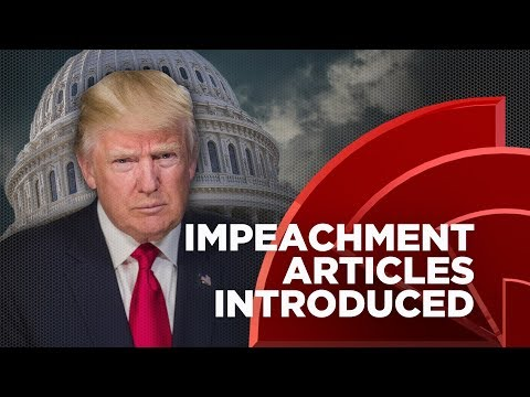 Six Democrats Introduce Articles Of Impeachment Against Trump