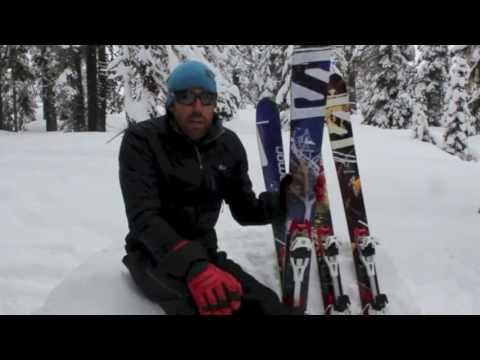 Salomon Q-98 and Salomon Q-105 Ski Review