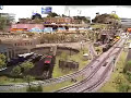 Amazing model train layout