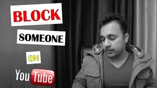 🚫 How to Block Someone on YouTube Channel permanently - YTAdvise 🚫