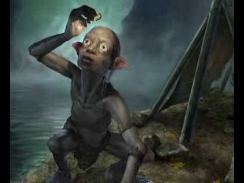 III. Gollum. The Lord of the Rings. Johan de Meij