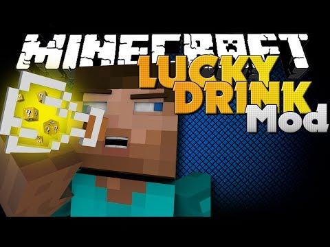 Minecraft Mod - LUCKY DRINKS MOD - NEW LUCKY DRINKS AND ITEMS