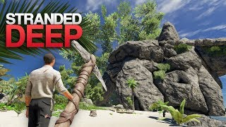 EXPLORING A GIANT'S HOME! Stranded Deep S4 Episode 1