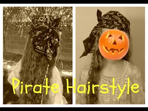 Pirate Hairstyle, Halloween Hairstyles