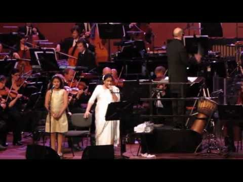 Asha Bhosle & Metropole Orchestra - Dum Maro Dum - The Hague, 9th May 2013 video