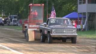 CHEVY TRUCK PULL STOCK 4X4 TRUCK PULL READING MICHIGAN