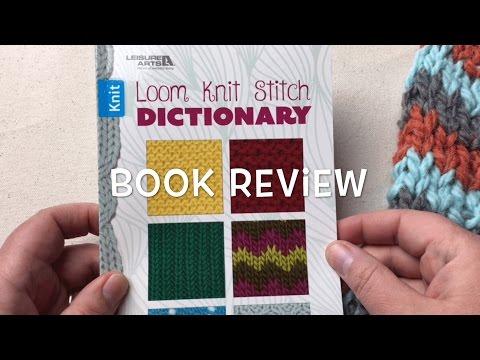 Loom Knit Chevron Stitch How To Make & Do Everything!