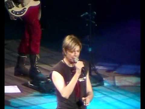 David Bowie Gail Ann Dorsey Under Pressure Reality Tour