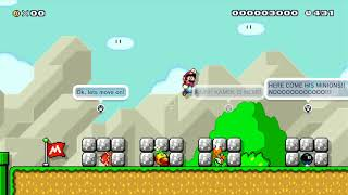 A Spike-Top Story 2 by JSleeps - Miiverse - SUPER MARIO MAKER - NO COMMENTARY