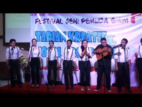 VOICE OF KALVARI PINELENG - hymne pemuda & sing for Jesus FSPG 2016