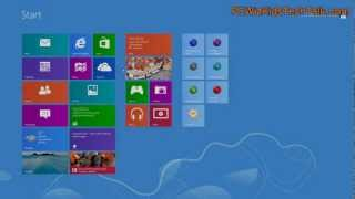 Windows 8 Mail App - How to access it