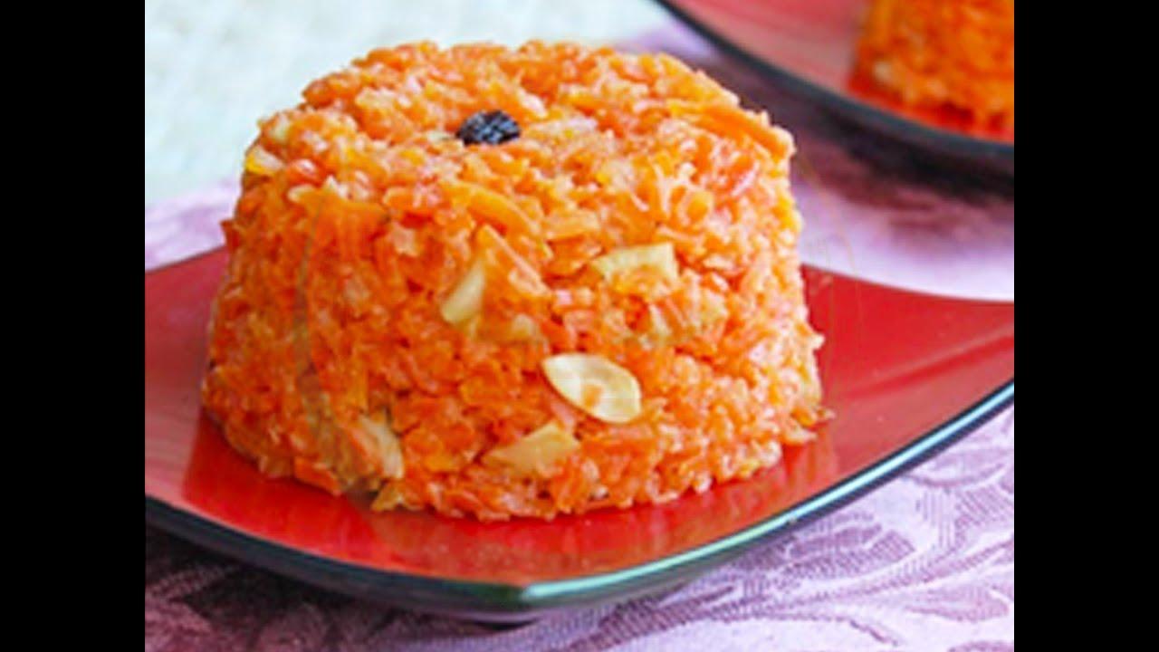 Морковная халва в домашних условиях рецепт