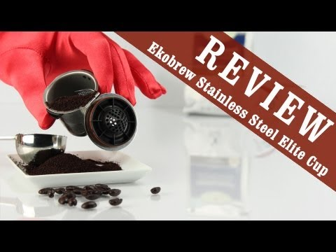 Review: Ekobrew Stainless Steel Elite - Refillable Filter for Keurig K-Cup Coffee Maker