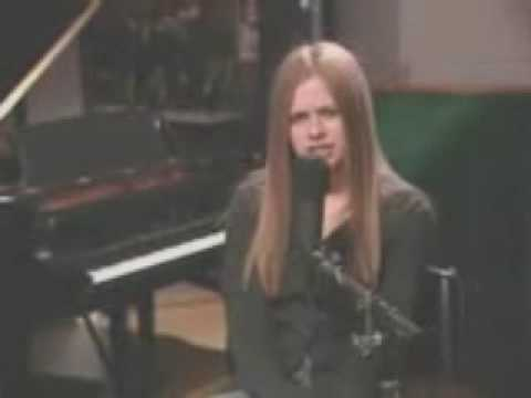Avril Lavigne - Things I'll Never Say (acoustic) video