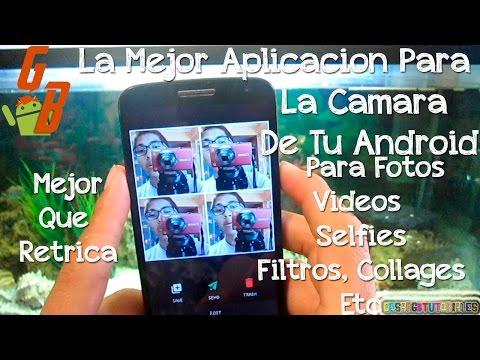 Camu Para Android - La Mejor Aplicacion Para Tu Camara, Para Hacer Fotos, Selfies Y Videos. 2015 ♥