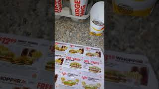 Coupon for Burger King ( Fast Food) Feeds Family of 4