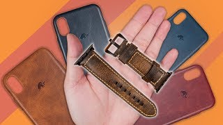 Bullstrap Apple Watch Leather Strap & iPhone X/XS Leather Case - Review