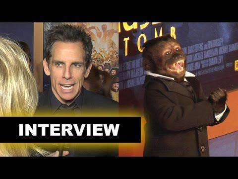Night at the Museum 3 Interview Today! Ben Stiller! Dexter! - Beyond The Trailer
