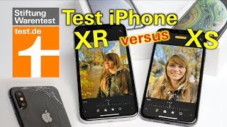 Test Apple iPhone XR: Besser als das iPhone XS? - Vergleichstest iPhone XR vs. XS Stiftung Warentest