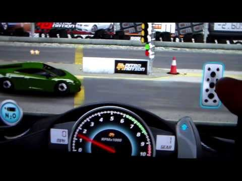 Drag Racing App WORLD RECORD SETTINGS Lamborghini Gallardo Lp-570-4SL