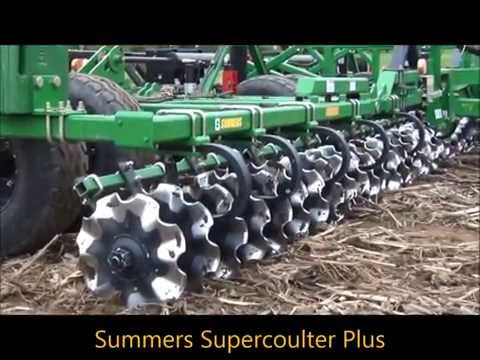 Vertical Tillage, Thelen Farms, Salford RTS, Summers Supercoulter Plus