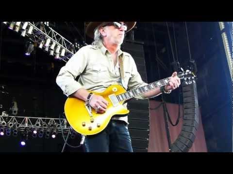 Aerosmith Brad Whitford at Bristow VA concert Q&A 8-12-12
