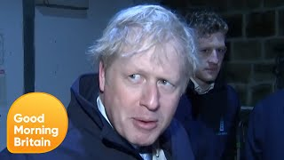 Correspondent Jonathan Swain Doorstops Boris Johnson on His Milk Round | Good Morning Britain