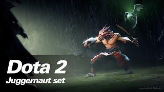 Dual Wielding - juggernaut set - Dota 2