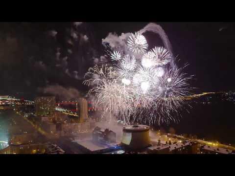 Фейеричная кульминация празднования 75-летия Сталинградской битвы удостоилась отдельного фильма