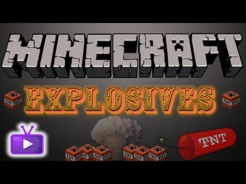 Minecraft ICBM Mod - Explosives!