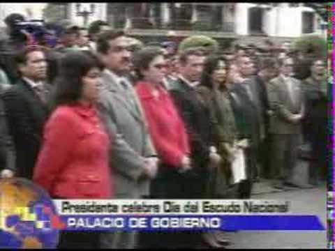Presidente Conmemora dia del Escudo Nacional