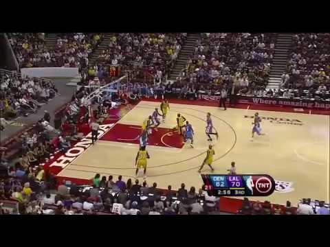 Lakers vs Nuggets Highlights NBA preseason 2009 10 22 Video