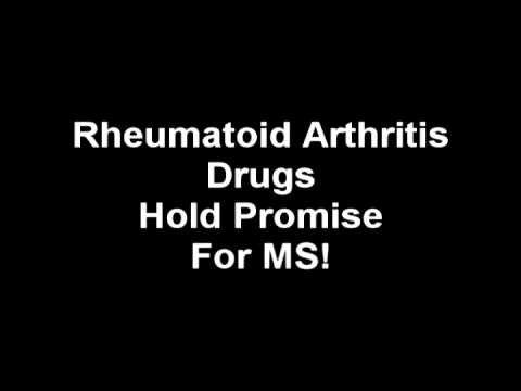 rheumatoid arthritis drugs hold promise for MS