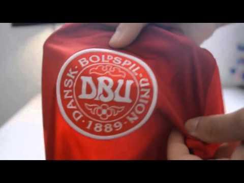 Unboxing Euro 2016 Denmark jersey