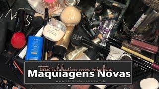 Quase um tutorial   Minhas maquiagens novas e dicas de aplicação