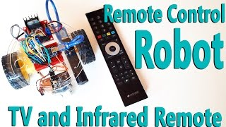 How to Control Arduino Robot Car with TV Remote Control | Infrared Remote IR