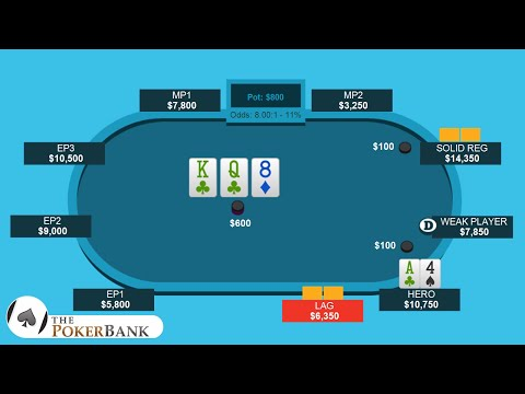 When To Play A Back-Door Flush Draw
