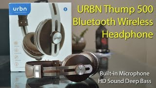 URBN Thump 500 Bluetooth Wireless Headphone Full review | Best Headphone with Deep bass under 1k