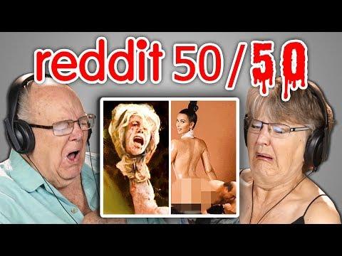 Elders React To Reddit 50 50 Challenge