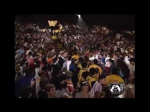 Wrestlemania 5 Legends Ultimate Warrior vs Ravishing Rick Rude