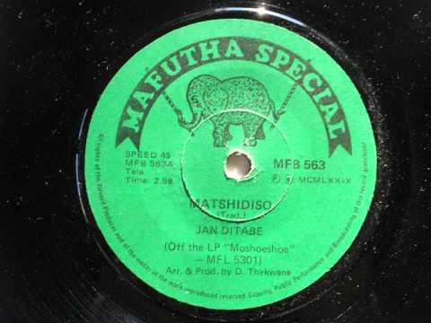 Jan ditabe - matshidiso (accordian jive) (mafutha special 563)