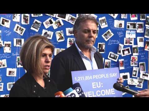 EU: Refugees Welcome