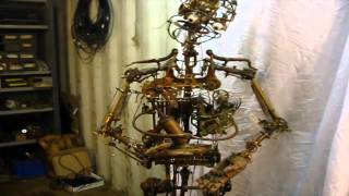 Rob Higgs - Humanoid clockwork robot automaton for The Best Offer (Giuseppe Tornatore)
