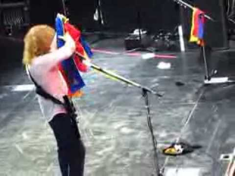 Dave Mustaine Talks about the first city in the countdown to extinction 20 years tour