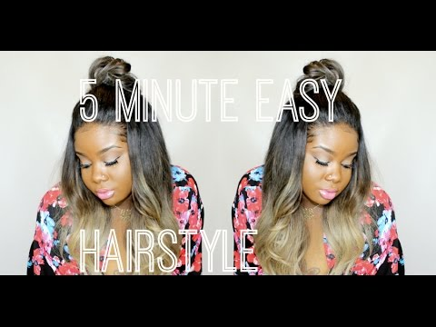 ♥ 5 minute easy Hairstyle