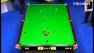 Ding Junhui vs Mark King - WSC 2013 Round 2 - Final session