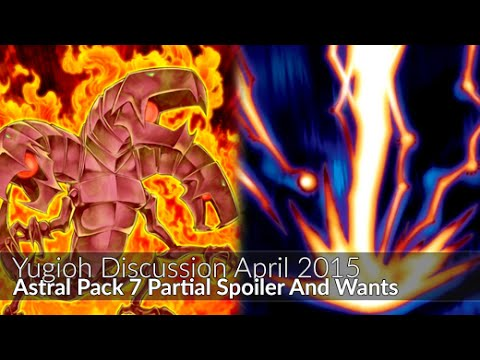 Yugioh Astral Pack 7 Partial Spoiler And Personal Wants video