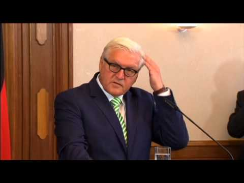 Germany Warns Ukraine: Steinmeier says situation in combat zone 'explosive'